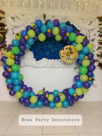 Hoop arch circular backdrop wedding hoop balloon decoration party deco