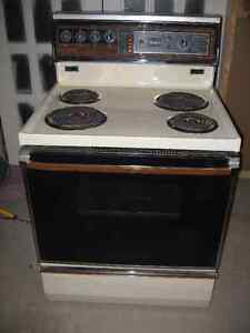 30 Inch Admiral Self Clean Stove
