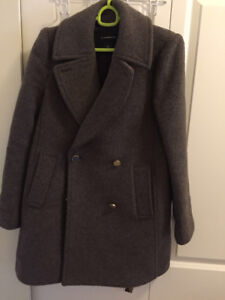 Women's Club Monaca Wool Coat Size S