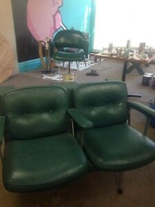 Leather Salon Chairs