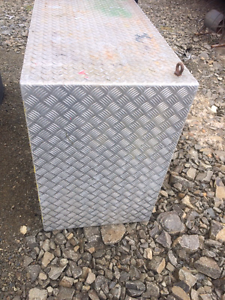 Heavy duty aluminium checker plate box White Beach Tasman Area Preview