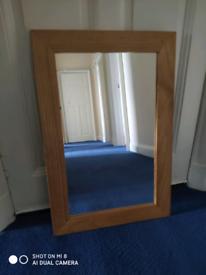Harvey's Mirror ,good quality in light wood.