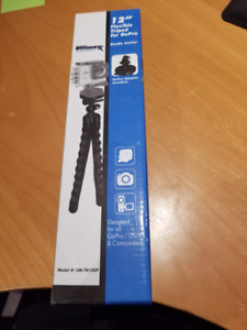 """12"""" Flexible Tripod for GoPro with GoPro adapter"""