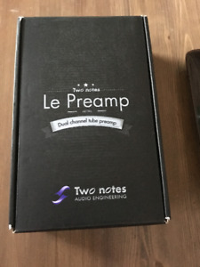 pedale two notes LE BASS PREAMP
