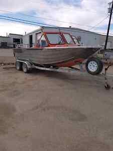 2009 Custom Weld Viper River Boat