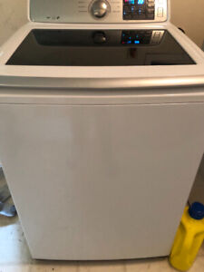 Double load washer and dryer