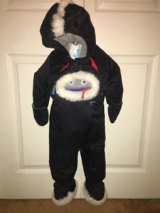 Deluxe par deluxe infant snowsuit.