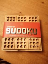 Sudoku wooden game
