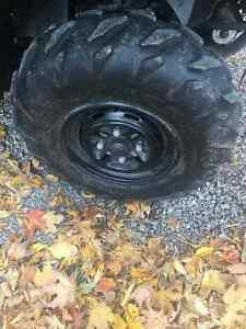 atv rims and tires (yamaha)