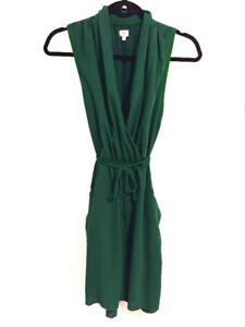 Aritzia Wilfred Green Sabine Dress