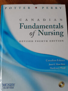 RN/RPN Text Books: Potter and Perry Fundamentals of Nursing