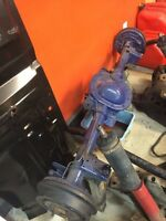 Ford 8.8 rear axle drum to drum