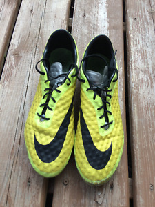 Used Hypervenom soccer cleats