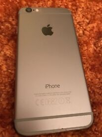 I PHONE 6 immaculate unlocked ...black a silver