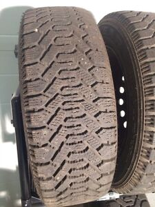Goodyear Nordic Winter Tires and Rims P215/60/R16