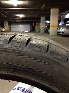 Two winter tire in a  very good condition  West Island Greater Montréal image 2