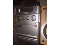 Very loud hi fi system