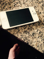 Selling white iPhone 4s with no scratchs $150