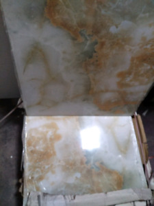 "Polished tile 24""x24"" 16 peices"
