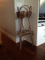Willow plant stand - hand made