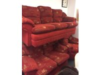 Sofa settee suite