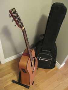 Simon and Patrick Acoustic-Electric Guitar and case