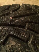 WINTER TIRES AND RIMS 205/60/R16