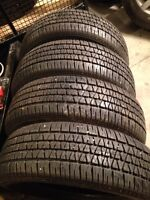 New winter Tires 215/65R16