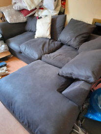 Free Corner couch getting rid soon if anyone needs