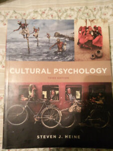 Cultural Psychology by Heine 3rd ed