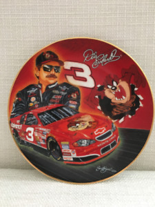 Dale Earnhardt collector plate