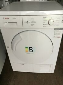 Bosch 8kg condenser tumble dryer with free delivery