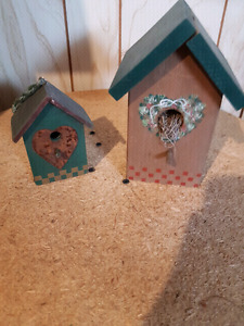 Decorative bird houses for in door
