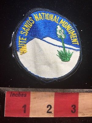 As Is White Sands National Monument New Mexico Patch 75Gg