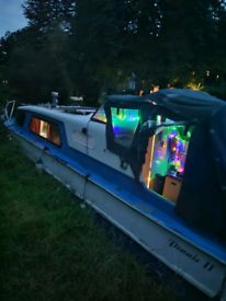 27 foot cabin cruiser boat (may swap for smaller boat)