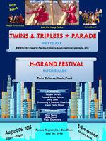 TWINS & TRIPLETS PLUS PARADE & FESTIVAL, AUG 6, 2016, Edmonton