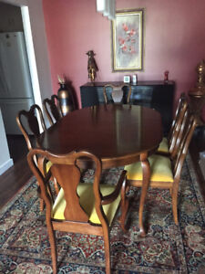 Gibbard Cherry Dining Table & Chairs