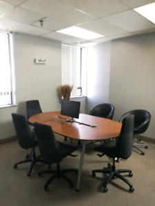 Private Office with Window Available Now