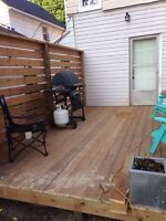 Deck and general construction