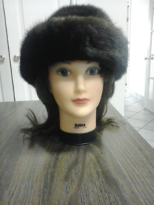 Expensive Mahogany Mink Hat- for Cheap price