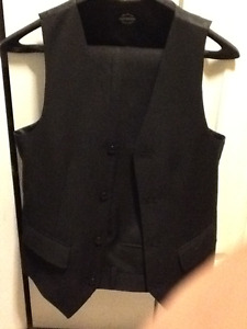 Black Dress pants & Vest