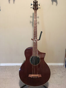 Ibanez Exotic Wood Acoustic/Electric Bass Guitar