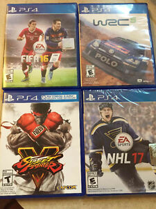 Selling 4 ps4 games