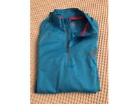 Women running jacket used once