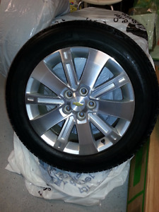 18 in Alloy Rims and tires