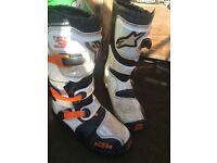 Kids alpine stars Ktm tech 3 motocross boots