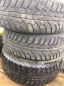 4 Winter Rims and Tires for Sale