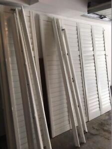Vinyl California Shutters for sale