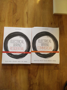 Electrical wiring residential and commercial text books