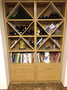 Wine Rack/Bookshelf